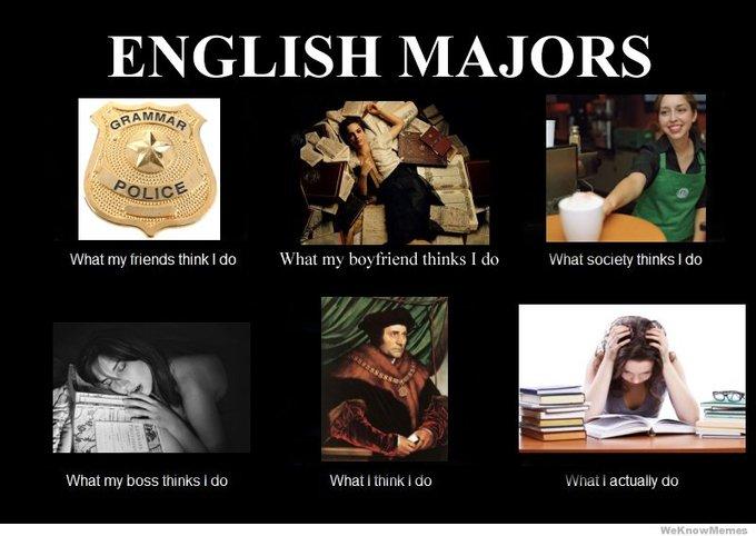 English it majors